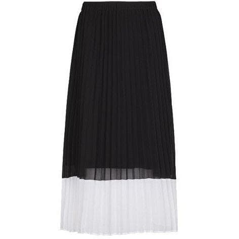 Moe Cut pleated skirt Women Clothing Just Female XS
