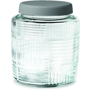 Nanna Ditzel Grey Lid Storage Jar Home Accessories Rosendahl