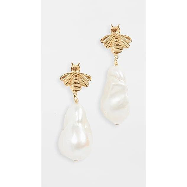 Natural White Pearl Drop Earrings Women Jewellery Chan Luu Natural White Pearl One Size