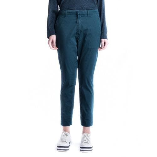 New navy cotton pants Women Clothing Hope 34