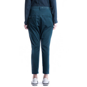 New navy cotton pants Women Clothing Hope