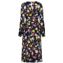 Load image into Gallery viewer, Nina floral print satin midi dress Women Clothing Just Female