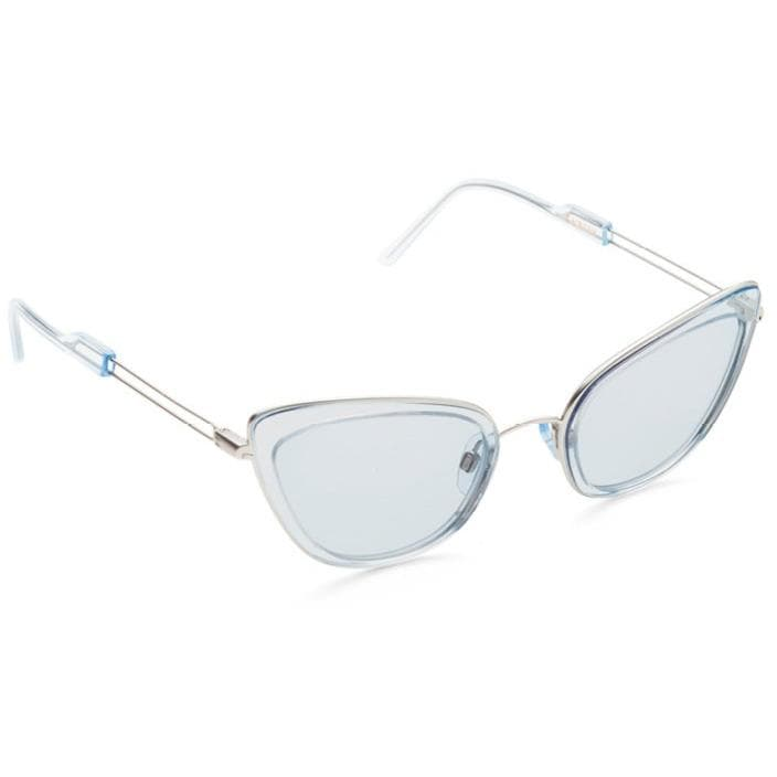 Oh Behave! Lucy blue cat-eye acetate and silver tone sunglasses ACCESSORIES Kaibosh O/S