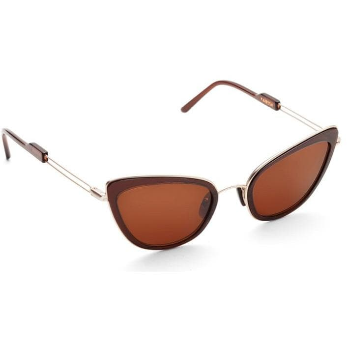 Oh Behave! magic chocolate cat-eye acetate and gold tone sunglasses ACCESSORIES Kaibosh O/S
