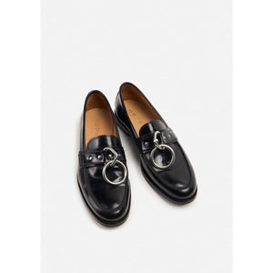 Patty Ring leather loafer WOMEN SHOES Hope