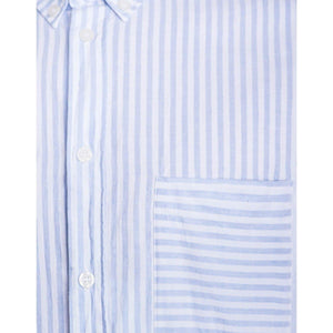 Peter cotton linen stripe shirt Men Clothing Filippa K S