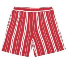 Load image into Gallery viewer, Red Stripe Front Shorts Men Clothing Libertine-Libertine S