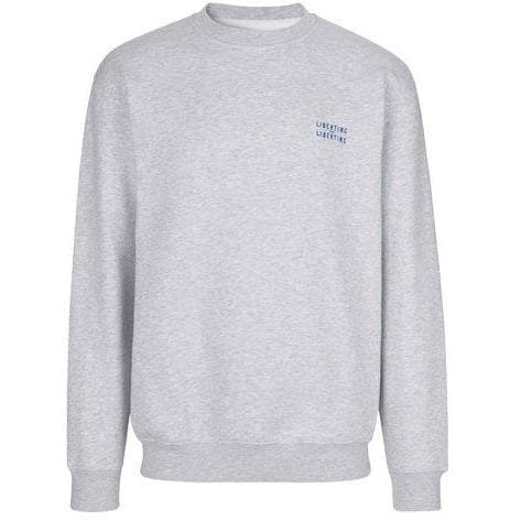 Society light grey cotton jersey sweatshirt Men Clothing Libertine-Libertine S