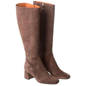 Tangy suede knee length boots WOMEN SHOES Whyred
