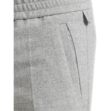 Load image into Gallery viewer, Terry wool mix elastic waisted cropped pants Men Clothing Filippa K 46