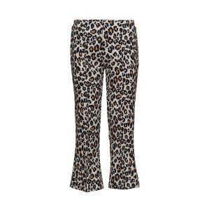 The Fire leopard printed cropped flare trouser Women Clothing FWSS