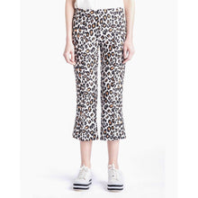 Load image into Gallery viewer, The Fire leopard printed cropped flare trouser Women Clothing FWSS XS