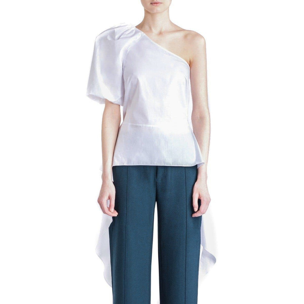 Valora organic cotton one shoulder top Women Clothing House of Dagmar 34