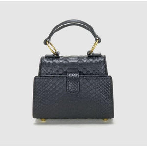 VOILA small python leather bag Women bag Serendippo