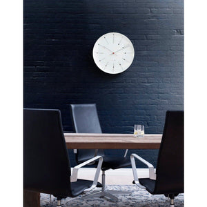 Wall Bankers Wall Clock Home Accessories ARNE JACOBSEN