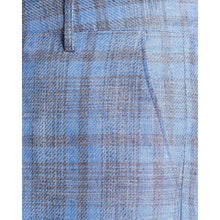Load image into Gallery viewer, Wind wool checked wide leg trouser Men Clothing Hope