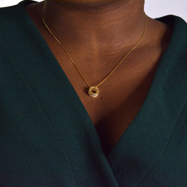 DOUBLETAKE Jewellery Christabel Gold Necklace