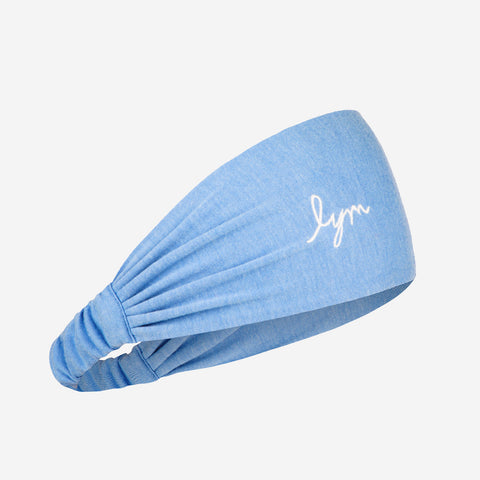 Light Blue Tri-Blend Headband