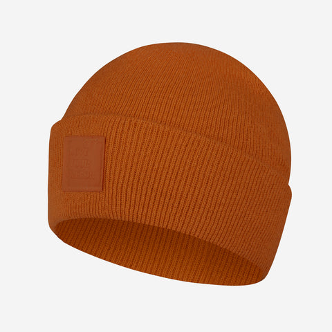 Burnt Orange Classic Acrylic Cuffed Beanie