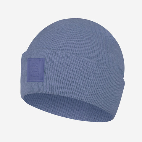 Washed Denim Classic Acrylic Cuffed Beanie