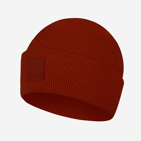 Tuscany Red Classic Acrylic Cuffed Beanie