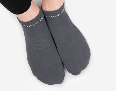 Charcoal Classic Ankle Socks
