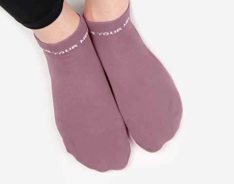 Dusty Rose Classic Ankle Socks