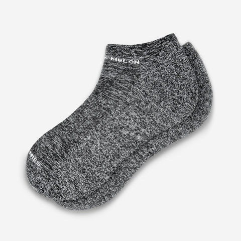 Black Speckled Ankle Socks
