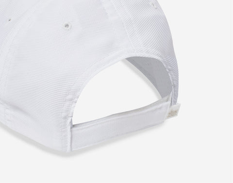 White Athletic Cap