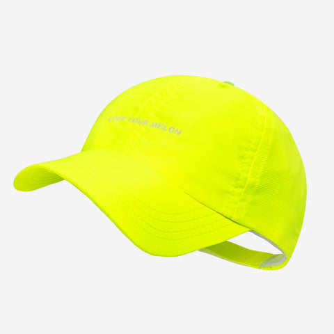 Neon Yellow Athletic Cap
