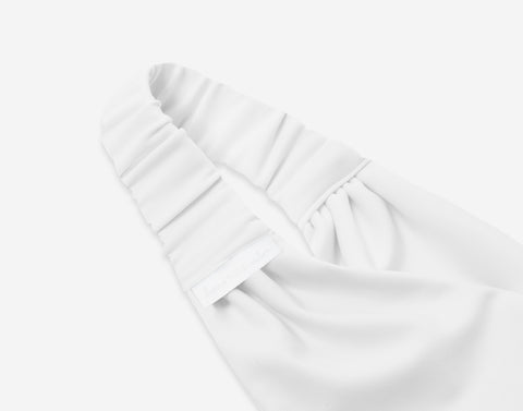 White Athletic Headband