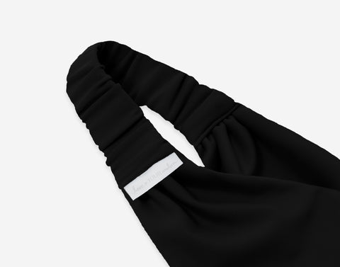 Black Athletic Headband