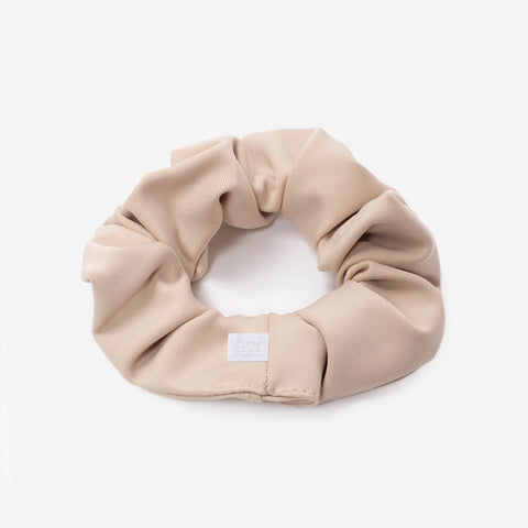 Khaki Athletic Scrunchie
