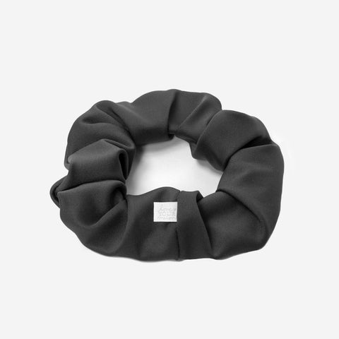 Charcoal Athletic Scrunchie