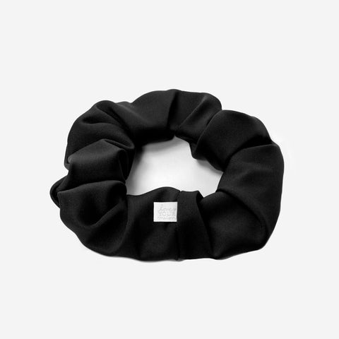Black Athletic Scrunchie