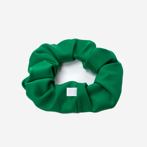 Kelly Green Athletic Scrunchie