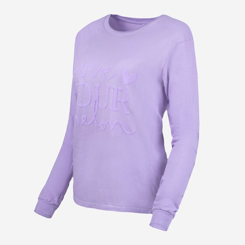 Lavender Classic Long Sleeve-Apparel-Love Your Melon