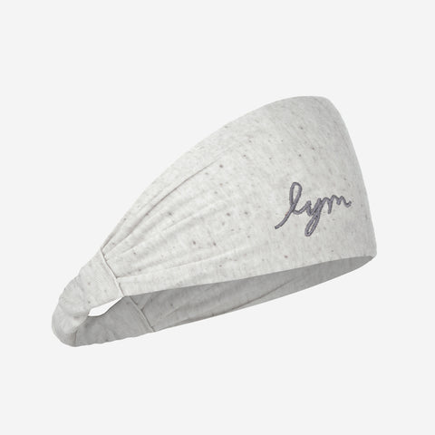 Gray Speckled Tri-Blend Headband