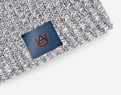 Auburn Tigers Navy Speckled Beanie