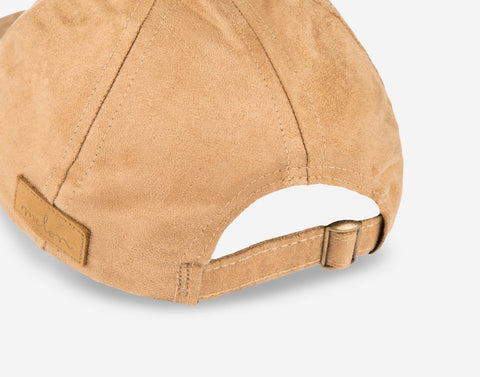 Camel Suede Cap-Cap-Love Your Melon
