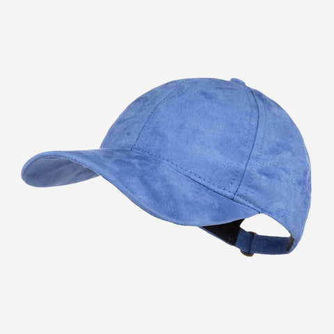 Sky Blue Suede Cap-Cap-Love Your Melon