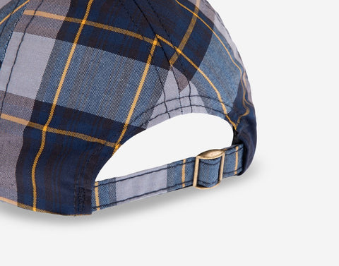 Navy and White Plaid Cap-Cap-Love Your Melon