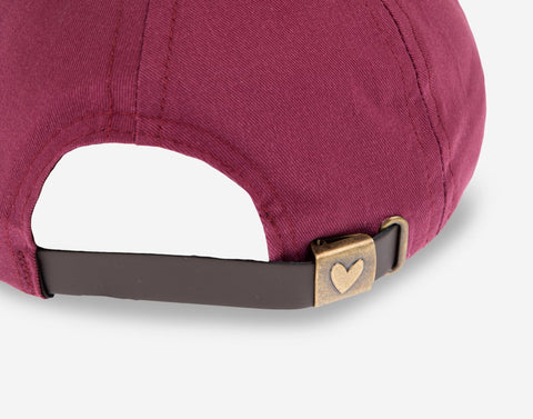 Burgundy Crew Cap-Crew Cap-Love Your Melon