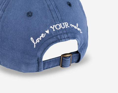 Navy Washed Denim Made in USA Cap-Cap-Love Your Melon