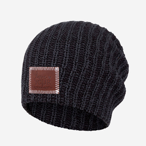 Smoke Speckled Beanie-Beanie-Love Your Melon