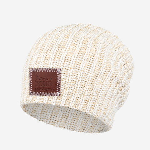 Khaki Speckled Beanie-Beanie-Love Your Melon
