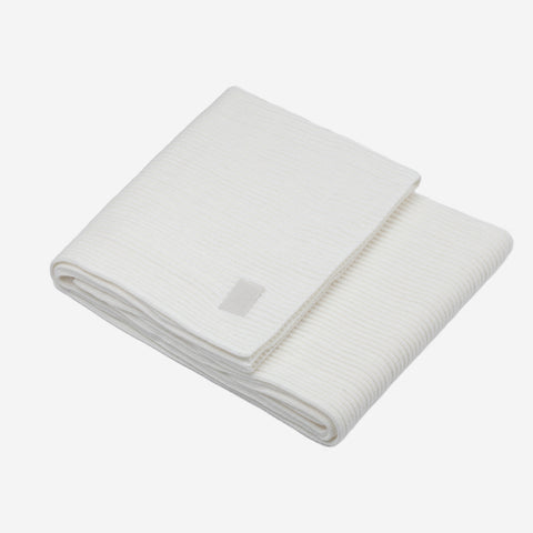White Blanket (White Leather Patch)