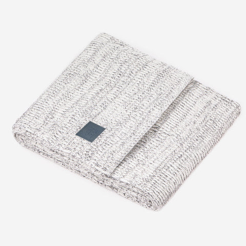Gray Speckled Monochrome Blanket