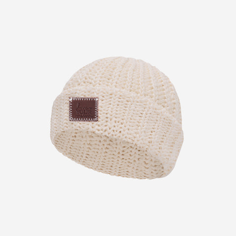 Natural Classic Baby Beanie