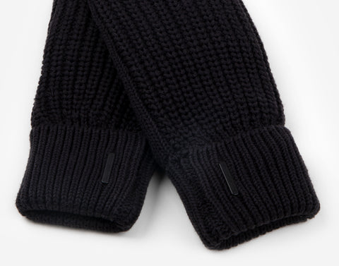 Black Knit Mittens-Accessory-Love Your Melon